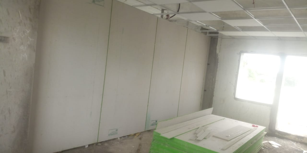 ecopro plus partition wall for covid hospital at bardoli