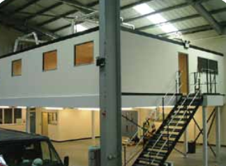 office mezzanine floor
